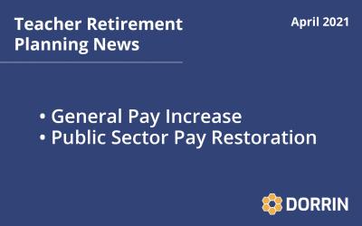 Teacher Retirement News April 2021